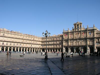 Plaza Mayor, Salamanque