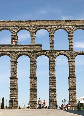 Aqueducs ... Segovie-aqueduc